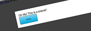 Popup Tutorial