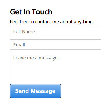 How To Create a Simple Contact Form Using Ajax and PHP